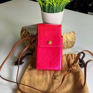 Louis Vuitton Auth Vernis 2 Way Convertible Pouch